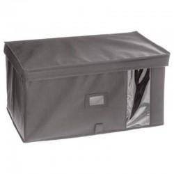 Boîte à rangement H25X50X30cm - Gris clair