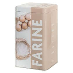 Boîtes à farine RELIEF3 - Taupe