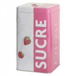 Boîtes à sucre RELIEF3 - Rose