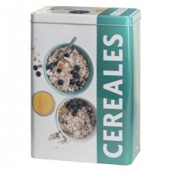 Boîtes à céréales RELIEF3 - Bleu