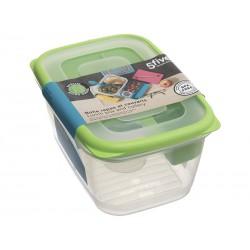 Lunch box avec couverts - Vert