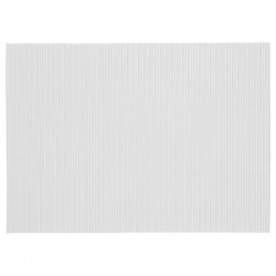 Tapis de salle de bain en mousse 65X90cm - Blanc
