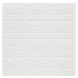 2 Stickers carrelage mur blanc 30X30cm - Blanc