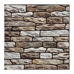 2 Stickers carrelage mur taupe 30X30cm - Taupe
