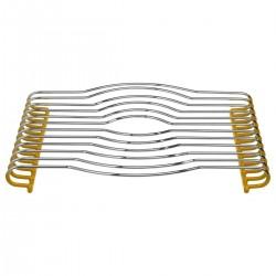 Dessous de plat en PVC 26X29cm - Jaune