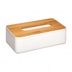 Boîte à mouchoirs NATURÉO - Blanc
