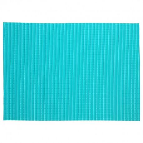 tapis de salle de bain en mousse 65x90cm turquoise - Tapis Turquoise