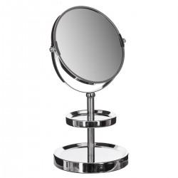 Miroir 2 socles - Chrome