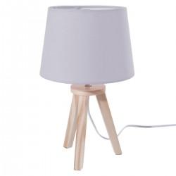 Lampe pour enfant à 3 pieds en bois ATTRAPE RÊVES - Gris