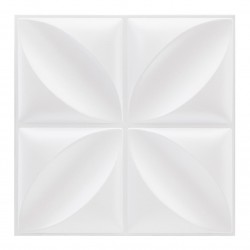 6 Stickers carrelage 30X30cm - Blanc