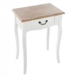 Table de chevet CHRYSA, SUR LA ROUTE DES VENTS - Blanc