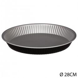 Moule à tarte 28cm SIGNATURE - Noir