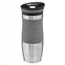 Mug isolant à double parois 35cL RETRO COLORS - Gris