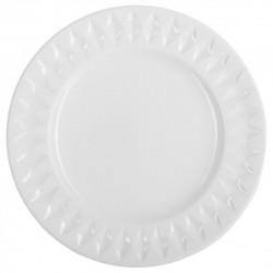 Assiette de dessert D20cm DIAMANT - Blanc