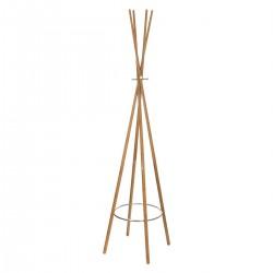 Porte manteaux en bambou tipi - Naturel