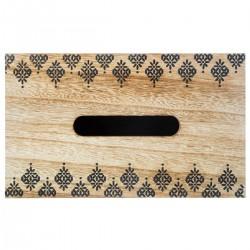 Boîte à mouchoirs ETNIK - Noir