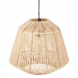Suspension corde H26cm JILY, ALLURE ETHNIQUE - Beige