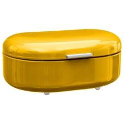 Boîte à pain en métal RÉTRO COLORS - Jaune