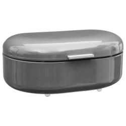Boîte à pain en métal RÉTRO COLORS - Gris