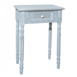 Table de chevet TASHA - Gris blanchi
