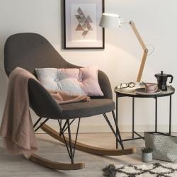 Rocking chair EWAN - Gris