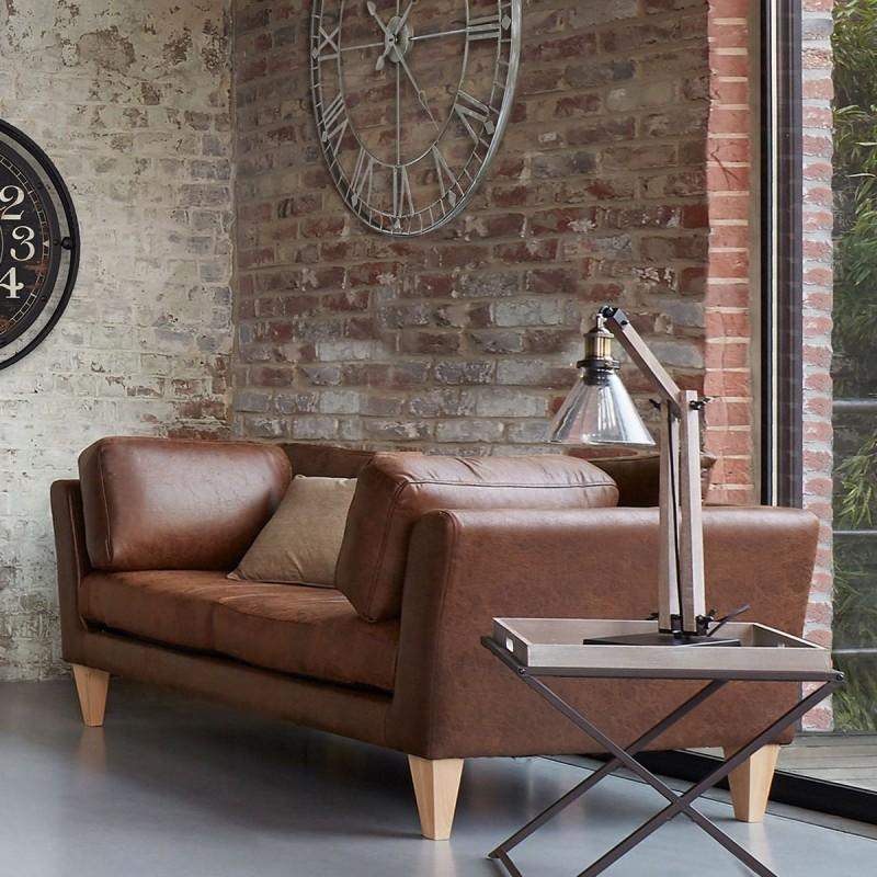 lampe abat jour en verre h59 alak esprit r cup veo shop. Black Bedroom Furniture Sets. Home Design Ideas