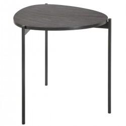 Table d'appoint DARK STONE, BLUSH LIVING - Gris foncé