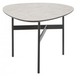 Table à café LIGHT STONE, BLUSH LIVING - Gris clair