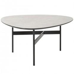 Table basse LIGHT STONE - Gris clair
