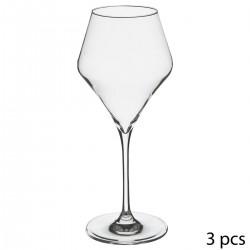Lot de 3 verres à eau 38cL CLARILLO - Transparent
