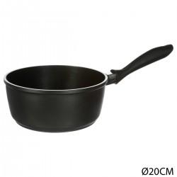 Casserole D20 en fonte d'aluminium AUTHENTIC - Noir