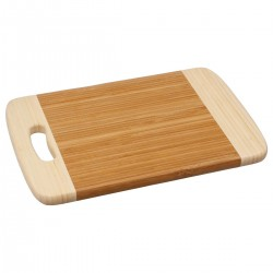 Planche à découper en bambou 30x20cm bicolore