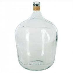 Vase en verre H56cm DAME JEANNE, ÉTÉ INDIEN - Transparent