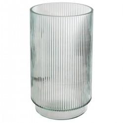 Vase cylindre en verre H25cm LA DOLCE VITA - Transparent