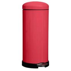 Poubelle 30L RETRO COLORS - Rouge