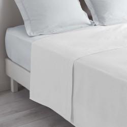 Drap plat 180X290cm (1pers) LINA - Blanc