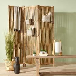 Paravent en branche bambou DREAM - Naturel