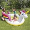 Piscine fontaine pour enfant en licorne magique INTEX - Multicolore