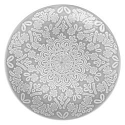 Assiette plate D27cm HACIENDA - Gris