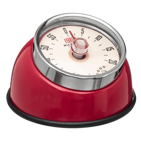Minuteur magnet RETRO COLORS - Rouge