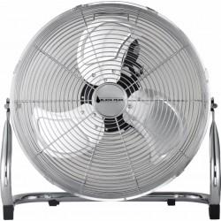 Ventilateur à poser en métal D35cm BLACK PEAR - Argent