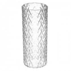 Vase H30cm ZIG - Transparent