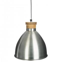 Suspension en métal H27cm COLOR BREAK - Argenté