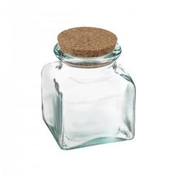 Pot alimentaire en verre recyclé 250mL ATELIER D'HIVER - Transparent