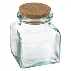 Pot alimentaire en verre recyclé 500mL ATELIER D'HIVER - Transparent