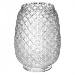 Vase feuille en verre H25 THE COLONIAL FACTORY - Transparent