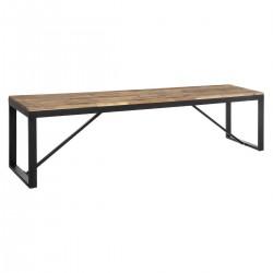 Banc de table à dîner 170X35cm EDENA - Noir