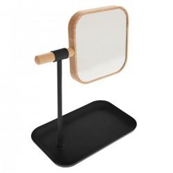 Miroir amovible avec support NATURÉO - Noir