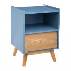 Table de chevet ELVA, COSY'NESS - Bleu