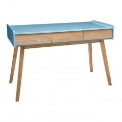 Console à 3 tiroirs ELVA, COSY'NESS - Bleu